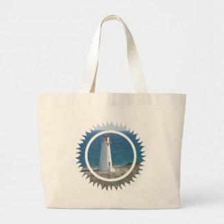 Lighthouse Design Jumbo Tote Bag