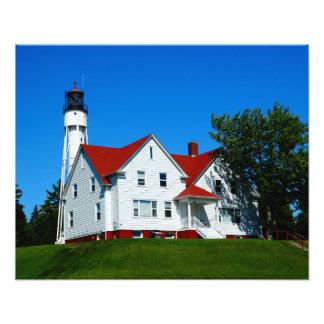 Lighthouse Door County, Wisconsin Photo Print