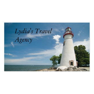 Lighthouse Double-Sided Standard Business Cards (Pack Of 100)