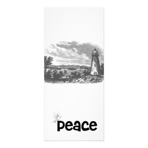 Lighthouse-Dove of Peace Customized Rack Card
