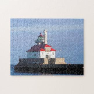 Lighthouse Duluth Minnesota Jigsaw Puzzle