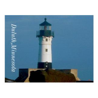 Lighthouse Duluth,Minnesota Postcard