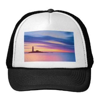Lighthouse Dusk Mesh Hats