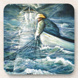 Lighthouse Electronics Skins and Office Products Drink Coaster