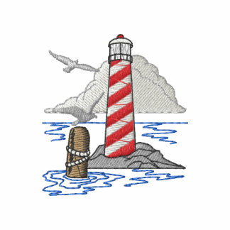 Lighthouse Embroidered Hoody