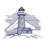 Lighthouse Embroidered Shirt