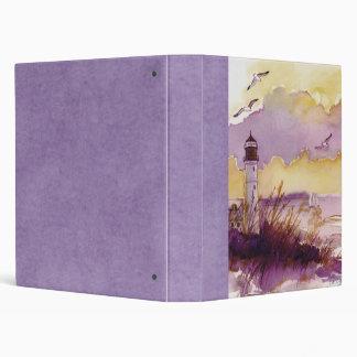 Lighthouse Family Scrapbook 3 Ring Binder