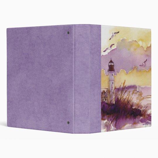 Lighthouse Family Scrapbook Binder