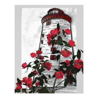 Lighthouse Floral Flyer