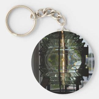 Lighthouse Fresnel Lens Keychain