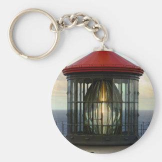 Lighthouse Glass Keychain