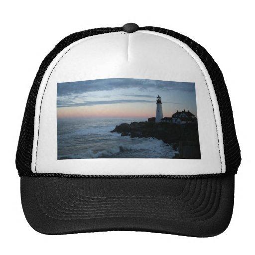 Lighthouse, Glorious Sunset! Mesh Hat
