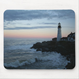 Lighthouse, Glorious Sunset! Mouse Pad