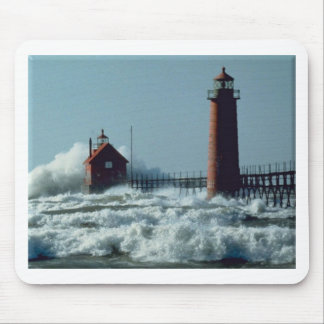 Lighthouse Grand Haven Mouse Pad