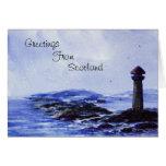 Lighthouse Greetings Card