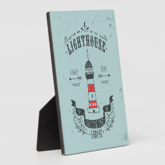 Lighthouse Guide Me Home Poster Plaque