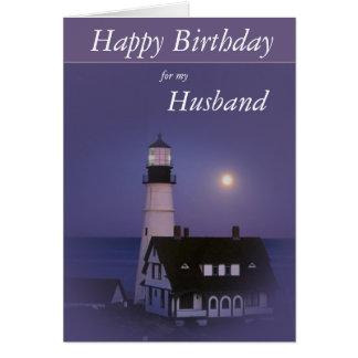 Lighthouse Happy Birthday Card