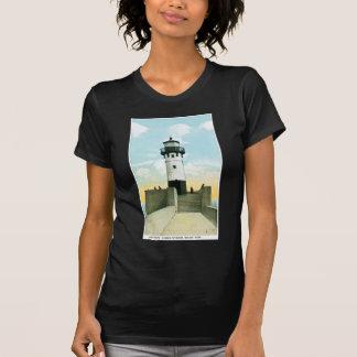 Lighthouse, Harbor Entrance, Duluth, Minnesota Tee Shirt