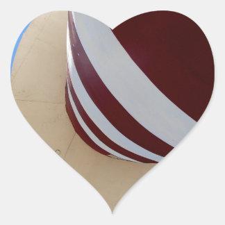 lighthouse heart sticker