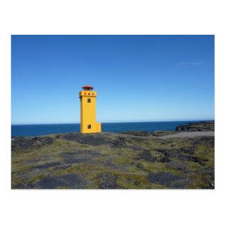 Lighthouse Iceland Postcard