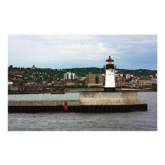 Lighthouse in Canal Park Custom Stationery