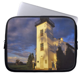 Lighthouse in Escanaba UP Michigan Laptop Computer Sleeve