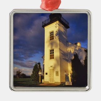 Lighthouse in Escanaba UP Michigan Ornament