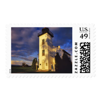 Lighthouse in Escanaba UP Michigan Postage