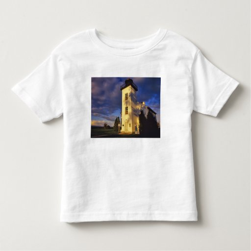 Lighthouse in Escanaba UP Michigan Toddler T-shirt