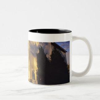 Lighthouse in Escanaba UP Michigan Two-Tone Coffee Mug