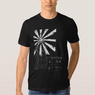 Lighthouse In Grey Twofer Shirt