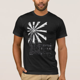 Lighthouse In Grey Twofer Shirt