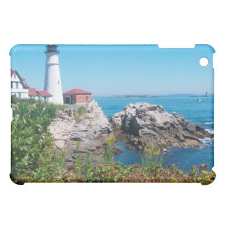Lighthouse in Maine iPad Mini Cover