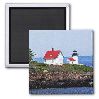 Lighthouse in Maine Magnet