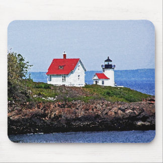 Lighthouse in Maine Mouse Pad