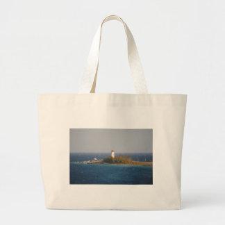 Lighthouse in Nassau Bahamas Tote Bag