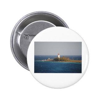 Lighthouse in Nassau, Bahamas Pinback Buttons