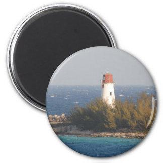 Lighthouse in Nassau, Bahamas Magnet