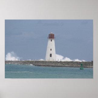 Lighthouse in Nassau Print
