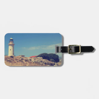 Lighthouse in Paphos Bag Tag