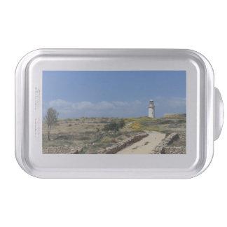 Lighthouse in Paphos Cake Pan