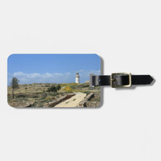 Lighthouse in Paphos Luggage Tag