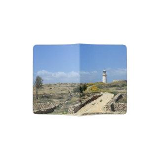 Lighthouse in Paphos Passport Holder