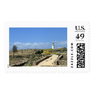 Lighthouse in Paphos Postage
