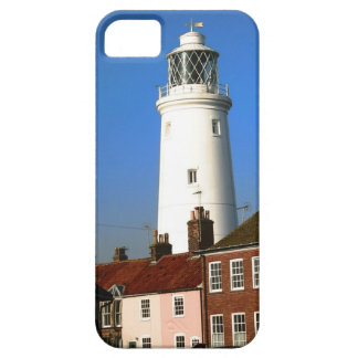 Lighthouse in sunny seaside English town  photo iPhone SE/5/5s Case