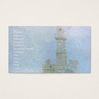 Lighthouse in the Mist Business Card