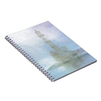 Lighthouse in the Mist Notebook