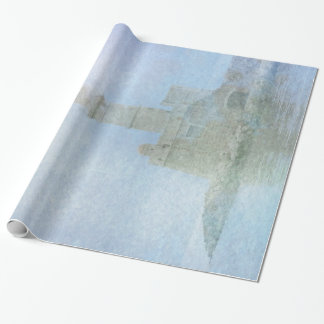 Lighthouse in the Mist Wrapping Paper