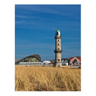Lighthouse in Warnemuende (Germany) Postcard