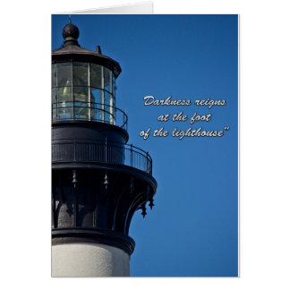 Lighthouse Inspiration Card